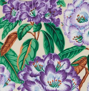 Botanical Rhododendrons Purple- PWSL005107