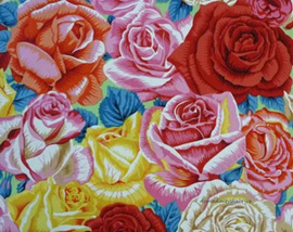 Botanical Rose Bed Green PWSL006102