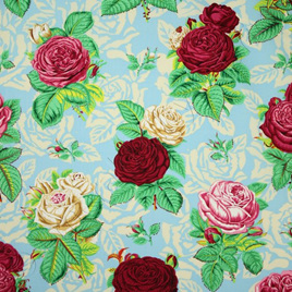 Botanical Roses Blue - PWSL001101