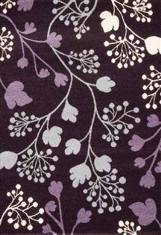 Purple Garden Rug