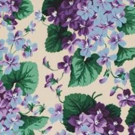 Botanical Violets Nature PWSL002155