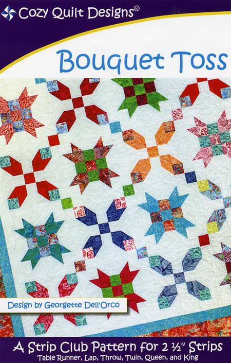 Bouquet Toss Quilt Pattern