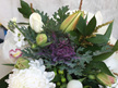 Bouquet with Kale Flower