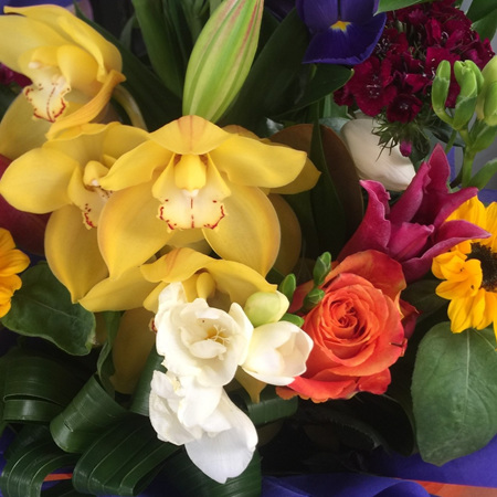 Bouquets & Posies - Orchids Included