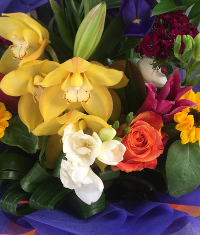 Bouquets/Posies with Orchids