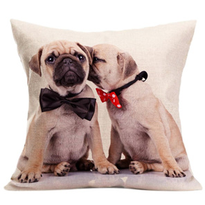 BOW TIE GENTLEMEN CUSHION COVER