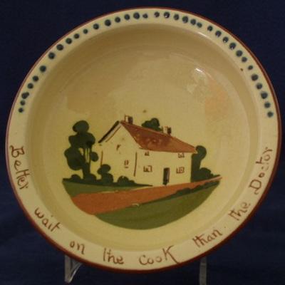 Bowl motto ware
