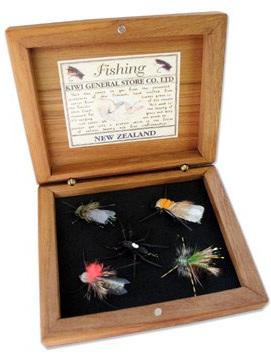 Boxed Fishing Flies Dry