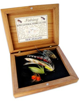 Boxed Wet Fishing Flies