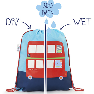 Boys Colour Changing Bus Bag