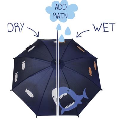Boys Colour Changing Shark Umbrella