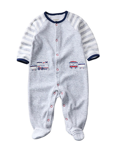 Boys winter onesie