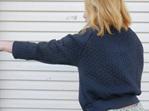 Braid Raglan Sweater