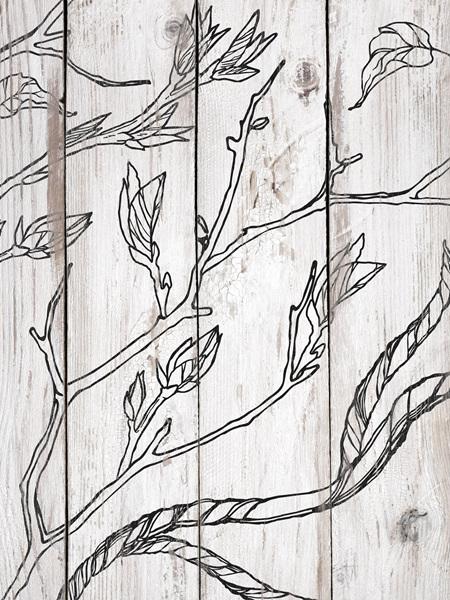 Branches & Vines IOD Decor Stamp