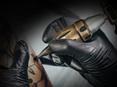 Brass Click Adjustable Length Tattoo Cartridge Grip