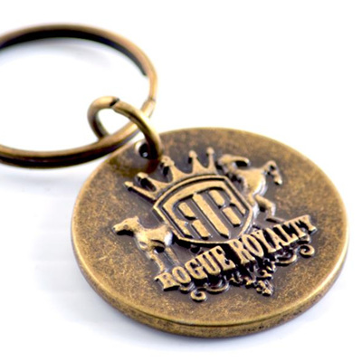 Rogue Royalty Dog Tag - Brass
