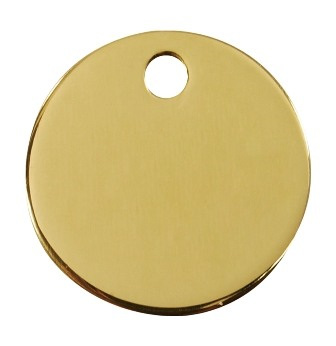 Brass Or Stainless Tag
