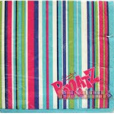 Bratz Stripey Napkins x 16