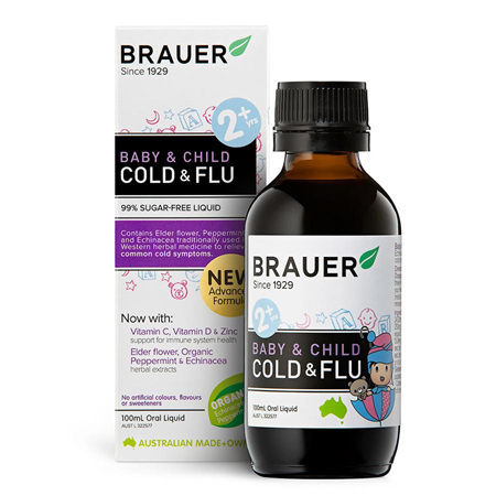Brauer Baby & Child Cold & Flu 100mL