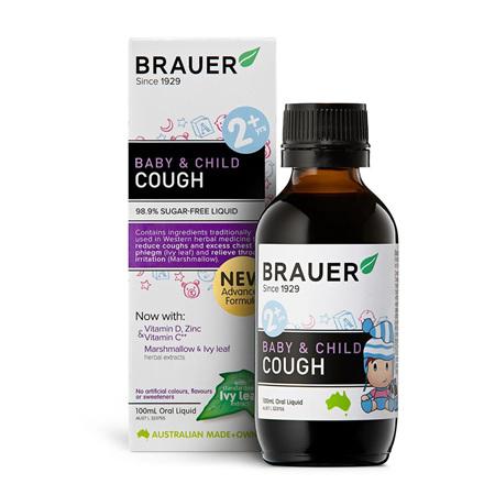 Brauer Baby & Child Cough Relief 100mL