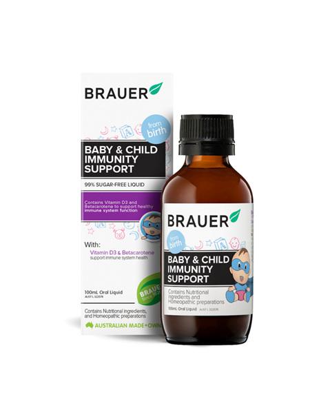 Brauer Baby & Child Immune Sup 100ml