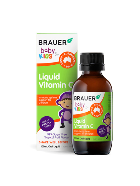 Brauer Kids Liquid Vitamin C 100ml