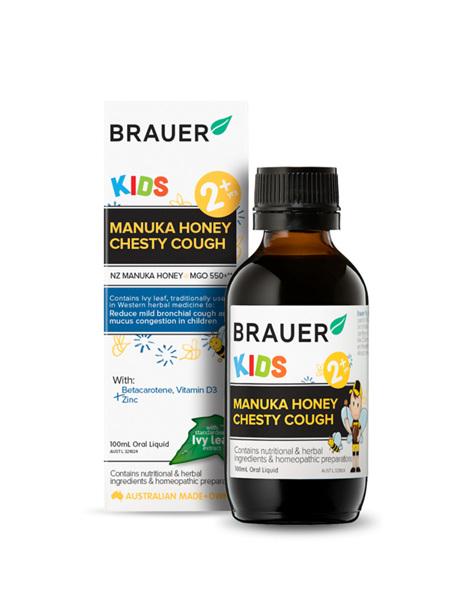 Brauer Kids Manuka Honey Chesty Cough 100ml
