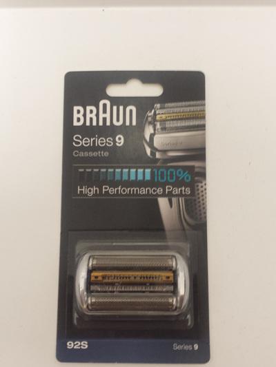 Braun 92S SHAVER CASSETTE SERIES 9
