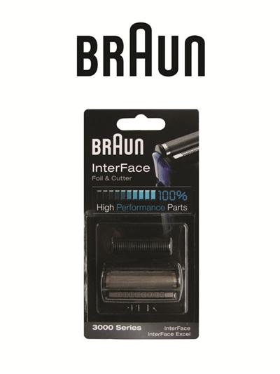 Braun InterFace Foil & Cutter 3000Series