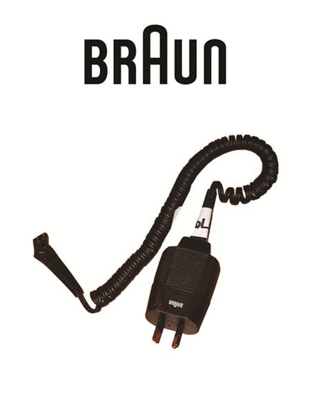 Braun Series 7 Smart plug/cord Right Angled Plug Now come with straight angled plug  7030-748