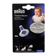 Braun Thermoscan Lens Filters  40 filters