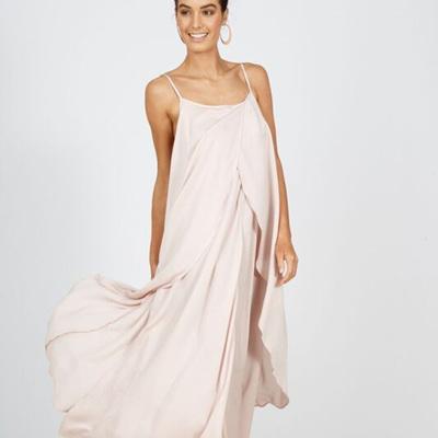 BRAVE AND TRUE DESTINATION DRESS IN ROSE