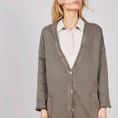 BRAVE  AND  TRUE INDUS JACKET MOSS