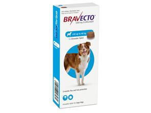 Bravecto Flea & Tick Chewable Treatment For Dogs