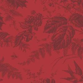 Braveheart Toile Crimson A-9174-R