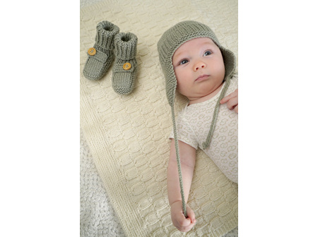 Brayden Hat and Booties BC69 Pattern