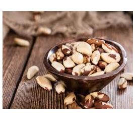 Brazil Nuts Raw Organic Approx 100g