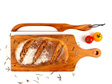 Bread Knife and Handle Board Set