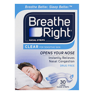 BREATHE RIGHT NASAL CLEAR-LARGE 30