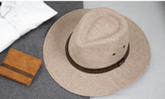 BRENT DROVER HAT LIGHT BROWN