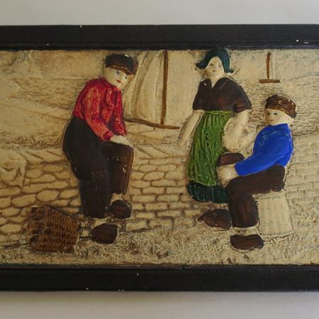 Bretby Dutch Plaque