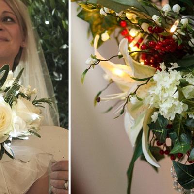 Bridal Bouquet Floral Lighting Ideas
