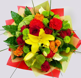 Bright Mixed Posy