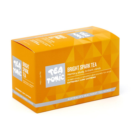 BRIGHT SPARK TEA 20 BAGS