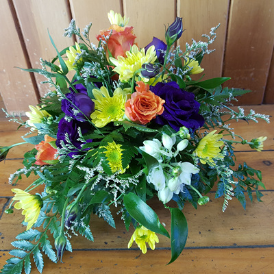 Bright Table Top Posy Bowl