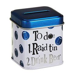 BRIGHTSIDE Raid Drink Beer Stash Tin