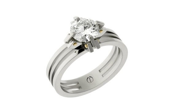 Brilliant Cut Engagement Ring - Transformd
