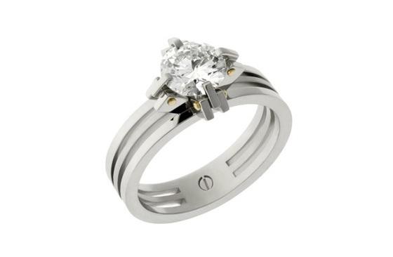 Brilliant Cut Engagement Ring - Transformd