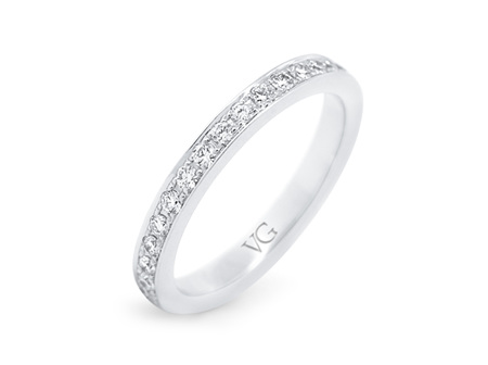 Brilliant Cut Full Diamond Band