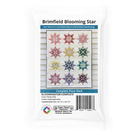 Brimfield Blooming Star Paper Piece Pack